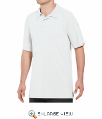 SK92WH Male Active Performance White Polo