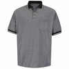 SK94BK Black/Cream Performance Knit® Birdseye Polo w/Pocket
