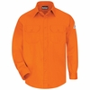 SLU8OR Men's Orange Excel-FR ComforTouch 6 oz. Uniform Shirt