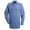 SLW2LB EXCEL- FR™ COMFORTOUCH® Light Blue Button Front Work Shirt