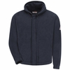 SMH6 Modacrylic Fleece Zip-front Hooded Sweatshirt