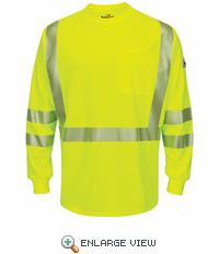 SMK6HV Hi-Visibility Lightweight Yellow/Green T-Shirt