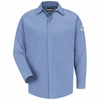 SMS2LB CoolTouch® Concealed-Gripper Pocketless Light Blue Shirt