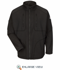 SMZ2BK Grid Fleece Black Jacket - Modacrylic blend