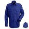 SND2RB NOMEX® IIIA 4.5 oz. Royal Blue Button Front Deluxe Shirt HRC1