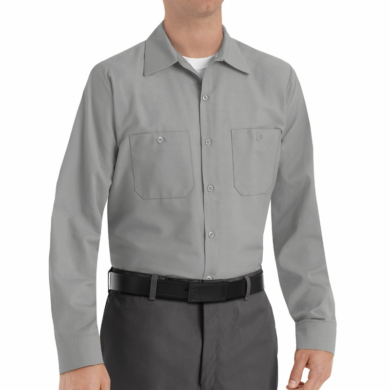 Powerblock Singapore: SP14 Men's Long Sleeve Industrial Work Shirt