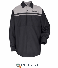 SP14LX Lexus® Long Sleeve Technician Shirt