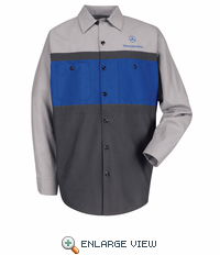 SP14MC  Mercedes Benz Techician Long Sleeve Shirt Shirt