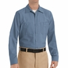SP14PB Men's Postmant Blue Long Sleeve Industrial Work Shirt