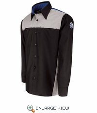 SP14VG Volkswagen Technician Long Sleeve Shirt