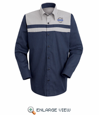 SP14VL Volvo Technician   Long  Sleeve Shirt
