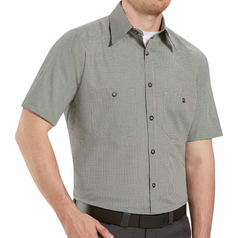 Add a touch of simplicity and comfort to your uniform with our checkered work shirts. Choose from our collection of checkered uniform shirts for great deals.