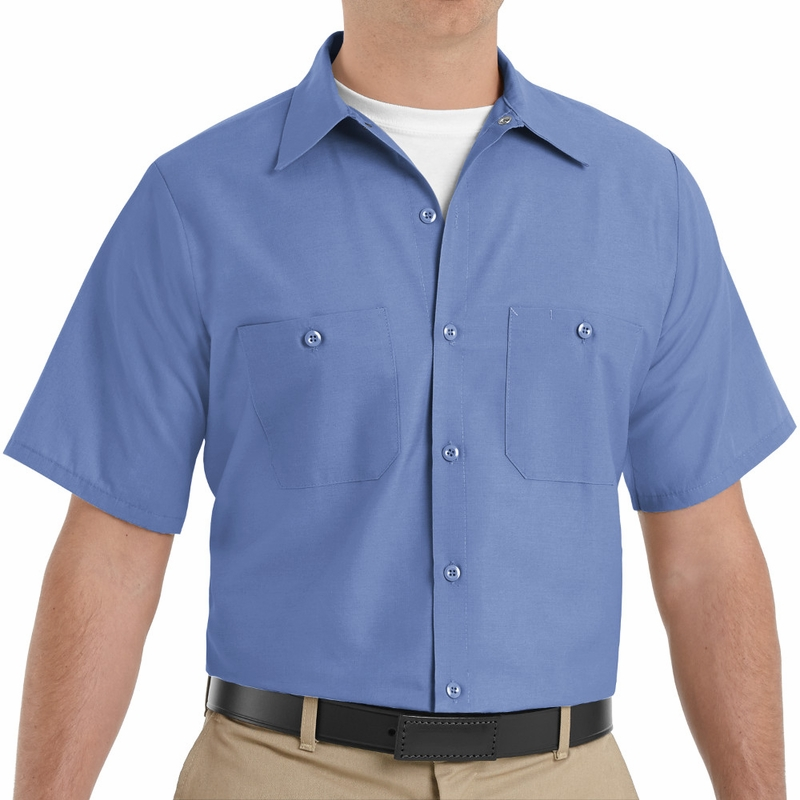 Powerblock Singapore: SP24 Men's Short Sleeve Industrial Work Shirt (21 Colors