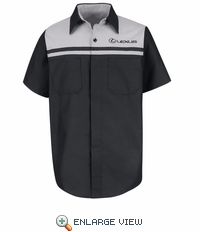 SP24LX Lexus® Short Sleeve Technician Shirt