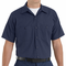 SP24NL Navy/Light Blue Stripe Twin  Durastripe ™ Short Sleeve Work Shirt
