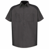 SP28CB Short Sleeve Charcoal/Black Motorsports Image Shirt