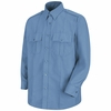 SP36MB Long Sleeve Medium Blue Sentinel Security Shirt