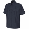 SP46DN Short Sleeve Dark Navy Upgraded Security Shirt