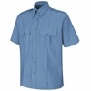 SP46MB Short Sleeve Medium Blue Sentinel Upgraded Security Shirt