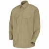 SP56KH Long Sleeve Khaki Sentinel� Basic Security Shirt