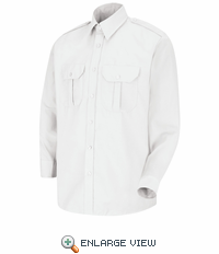 SP56WH Long Sleeve White Sentinel® Basic Security Shirt