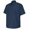 SP66NV Short Sleeve Navy Sentinel Basic Security Shirt