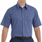 SP84 Short Sleeve  Mini-Plaid Work Shirt (2 Colors)