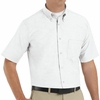SR60WH Short Sleeve Men's White Executive Oxford Button-Down Shirt