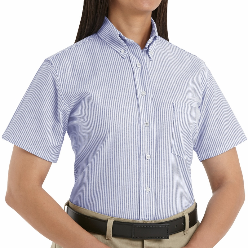 Womens Short Sleeve Blouses Button Down : Perfect Gray ...