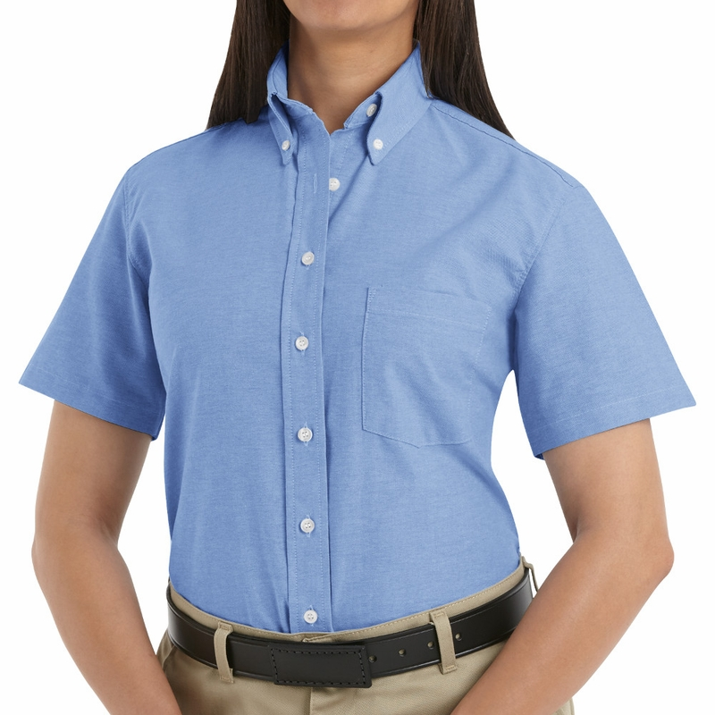 SR61 Short Sleeve Women's Executive Button-Down Shirt (4-1-Colors)
