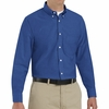 SR70FB Long Sleeve Men's French Blue Executive Button-Down Shirt
