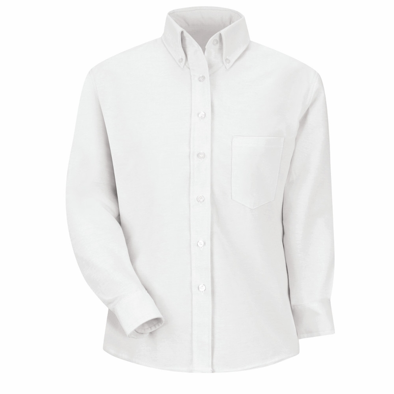 sr71wh long sleeve women 39 s white executive button down shirt
