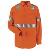 SS14O2  Hi-Visibility Long Sleeve Work Shirt Class2 Level 2