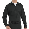 ST52BK Long Sleeve Black Utility Work Shirt (formerly Big Ben)