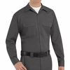 ST52CH Long Sleeve Charcoal Utility Work Shirt (formerly Big Ben)
