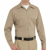 ST52KH Long Sleeve Khaki Utility Work Shirt (formerly Big Ben)
