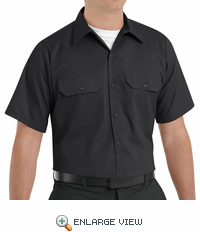 ST62BK Short Sleeve Black Utility Work Shirt (formerly Big Ben)