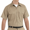 ST62KH Short Sleeve Khaki Utility Work Shirt (formerly Big Ben)