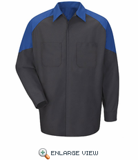 SY14FD Ford Long SleeveTechnician Shirt