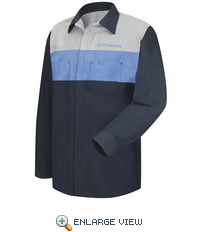 SY14HD Honda® Long Sleeve Technician Shirt