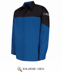 SY14ME Mopar Express Lane Technician Long Sleeve Shirt