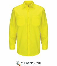 SY14YE ENHANCED VISIBILITY RIPSTOP WORK SHIRT
