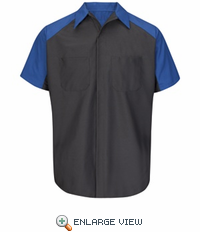 SY24FD Ford Short Sleeve Technician Shirt