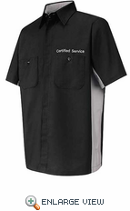 SY24GM Short Sleeve Certified Service Tech Shirt