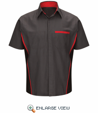 SY24NS Nissan Technician Short Sleeve Shirt w/Logo
