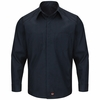 SY30 Long Sleeve Striped Color Block Shirt
