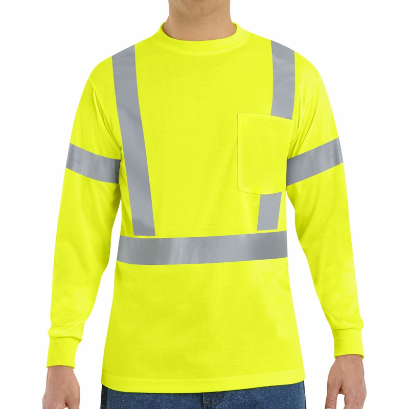 Syk2hv Hi Visibility Long Sleeve T Shirt