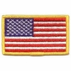 """United State Embroidered Flag - 3-3/8"""" x 2"""""""