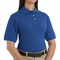 Women's Basic Royal Blue 100% Cotton Pique Polo - 5702
