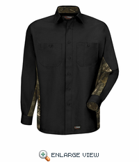 Wrangler Long Sleeve Camo Workshirt -WS30